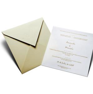 Convites de casamento tradicional 1