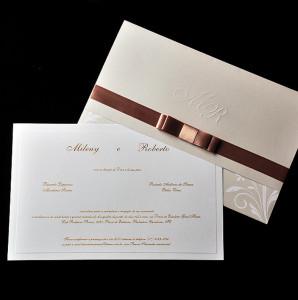 Convites de casamento tradicional 2
