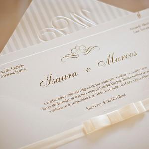 Convites de casamento tradicional 6