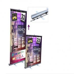 Display roll up ajustável display de enrolar ajustável
