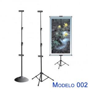 Porta banner modelo 002