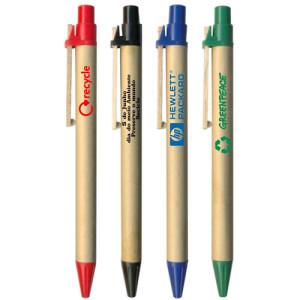 Canetas personalizadas rj, canetas ecológicas de papelão.