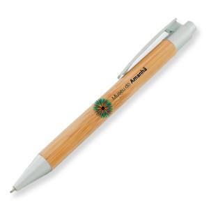 caneta bambu personalizadas