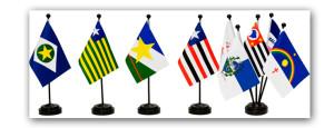 Bandeira de mesa.