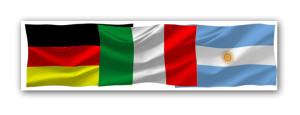 Bandeiras de todos os