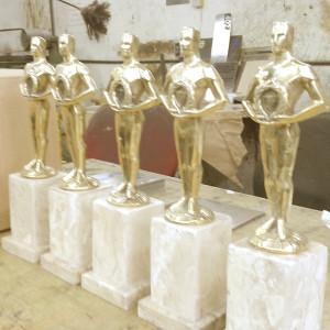 Réplica troféu Oscar