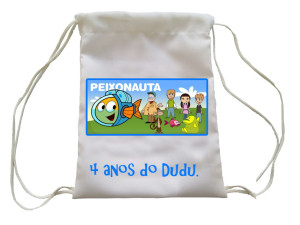 Mochilinha do Peixonauta.