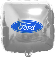Bolas de gás metalizadas rj-personalizados ford