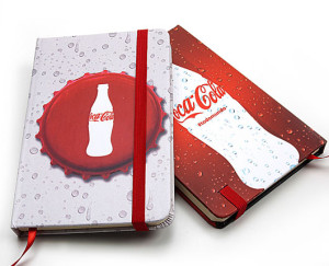 Brinde Final de Ano, cadernos Tipo Moleskime Personalizados