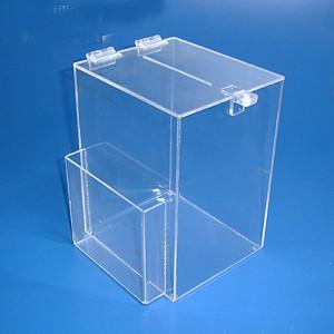 Urna de Acrílico sob medida, trabalhamos com todos as formas de urnas.