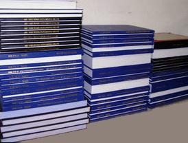 Encadernação de livros fiscais,