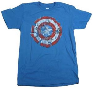 Camisetas Capitão América  001