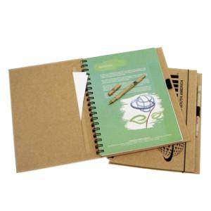 Cadernos ecológicos personalizados