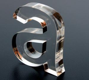 Letras de acrílicos corte laser 2