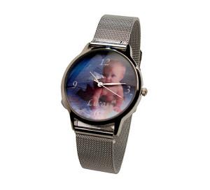 Relógio de pulso personalizado com foto 001.