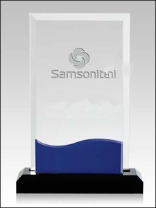 troféu de acrílico 3