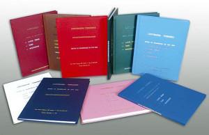 Encadernação capa dura, Monografias,