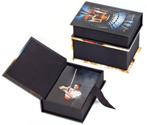 Caixas para ábum personalizadas em vários formatos.