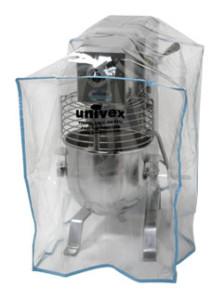capas para máquinas industriais, transparentes.