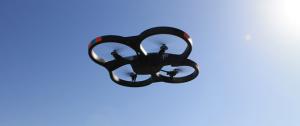 Drones para filmagens e fotografias.