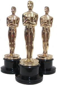 Réplica estatueta do Oscar.