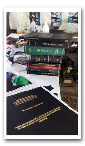 Restauração de livros Antigos.