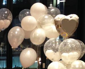 Bolas de gás transparentes rj, para casamentos