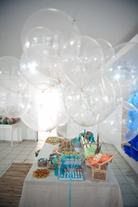 Bolas de gás transparentes rj, para festas infantís