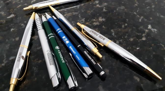canetas de metal personalizadas a laser