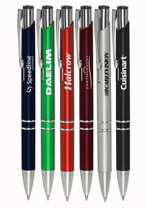 canetas de plástico personalizadas 001