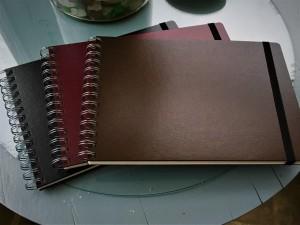 caderno de desenho capa dura vários tamanhos e cores 2
