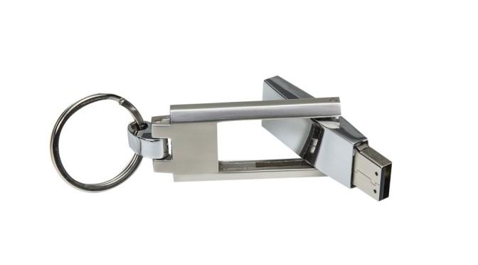 Pen Drive Chaveiro com impressão a laser monocromático