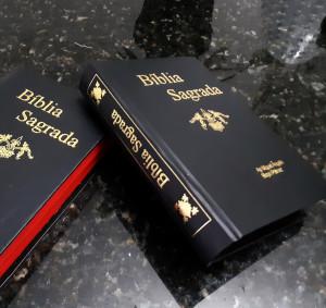 restauração de Bíblias rj, com gravação na lombada